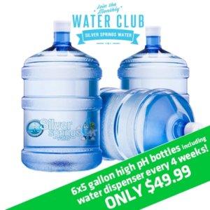 High pH Water